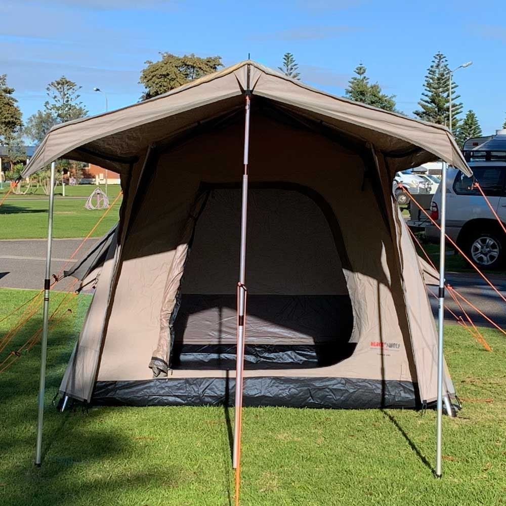 Black Wolf Turbo Lite 240 Touring Tent - Front view