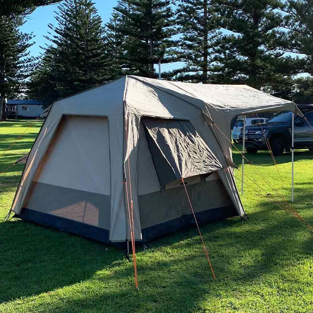 Black Wolf Turbo Lite 240 Touring Tent - Back view