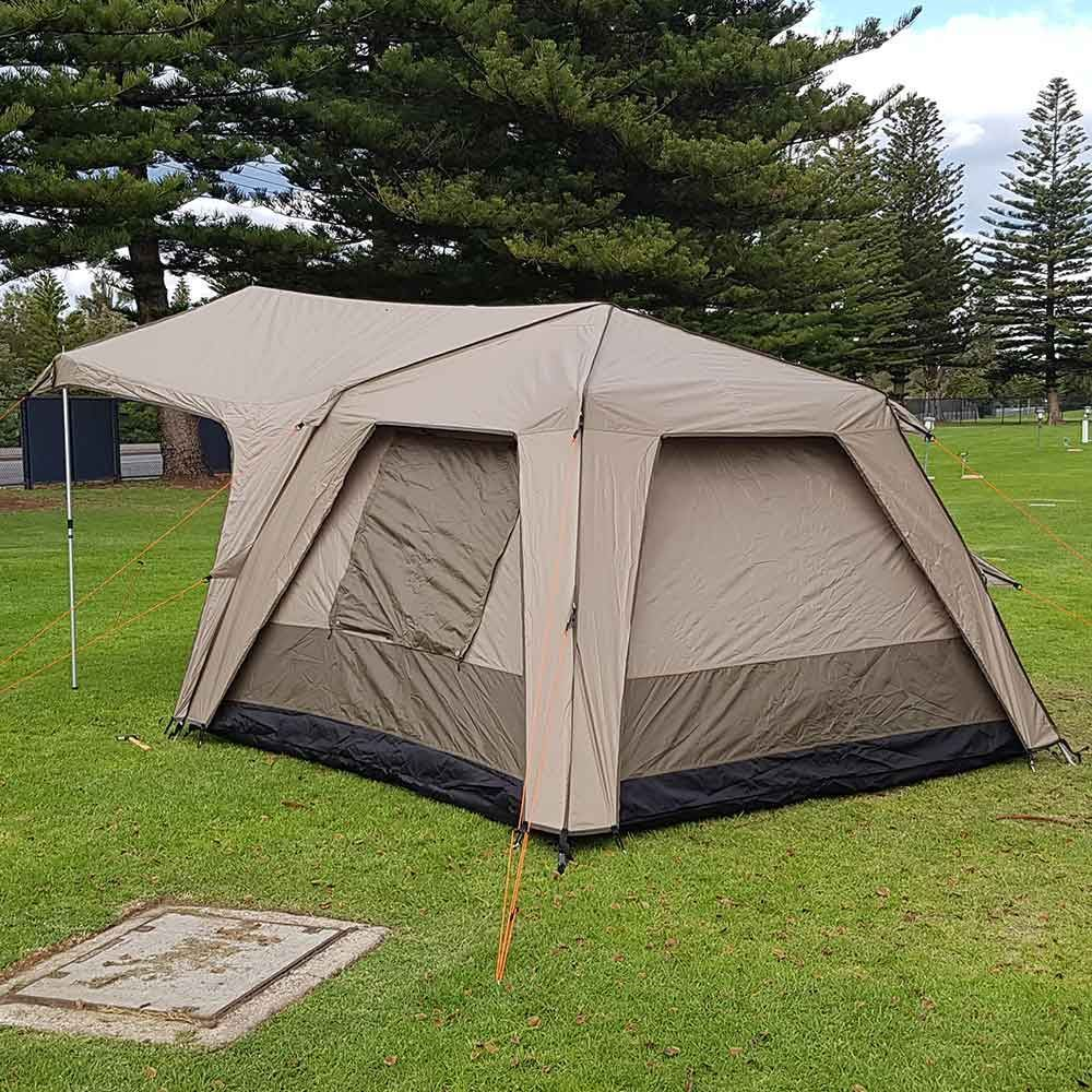 Black Wolf Turbo 300 Canvas Touring Tent - Back view