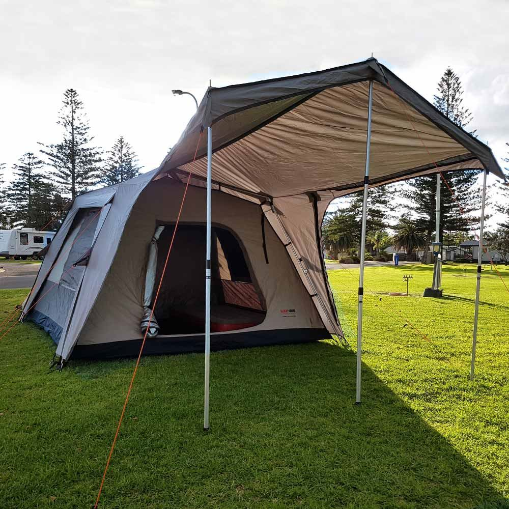 Black Wolf Turbo Lite Plus 300 Tent - Front view
