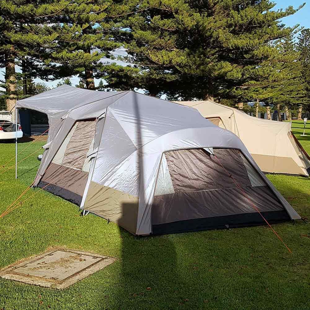 Black Wolf Turbo Lite Plus 300 Tent - Back view