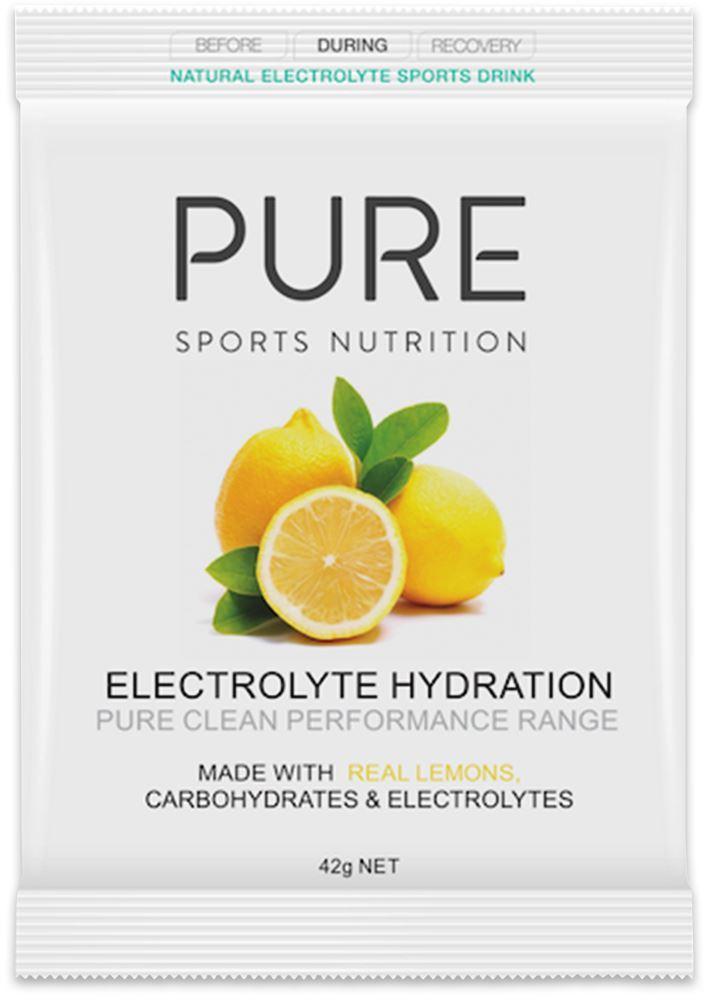 Pure Sports Nutrition Electrolyte Hydration Sachet 45g - Lemon