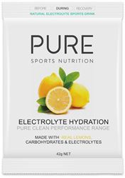 Pure Sports Nutrition Electrolyte Hydration Sachet 45g - Lemon