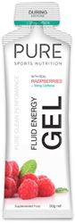 Pure Sports Nutrition Fluid Energy Gel Raspberries + Caffein