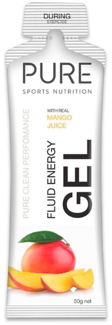 Pure Sports Nutrition Fluid Energy Gel Mango