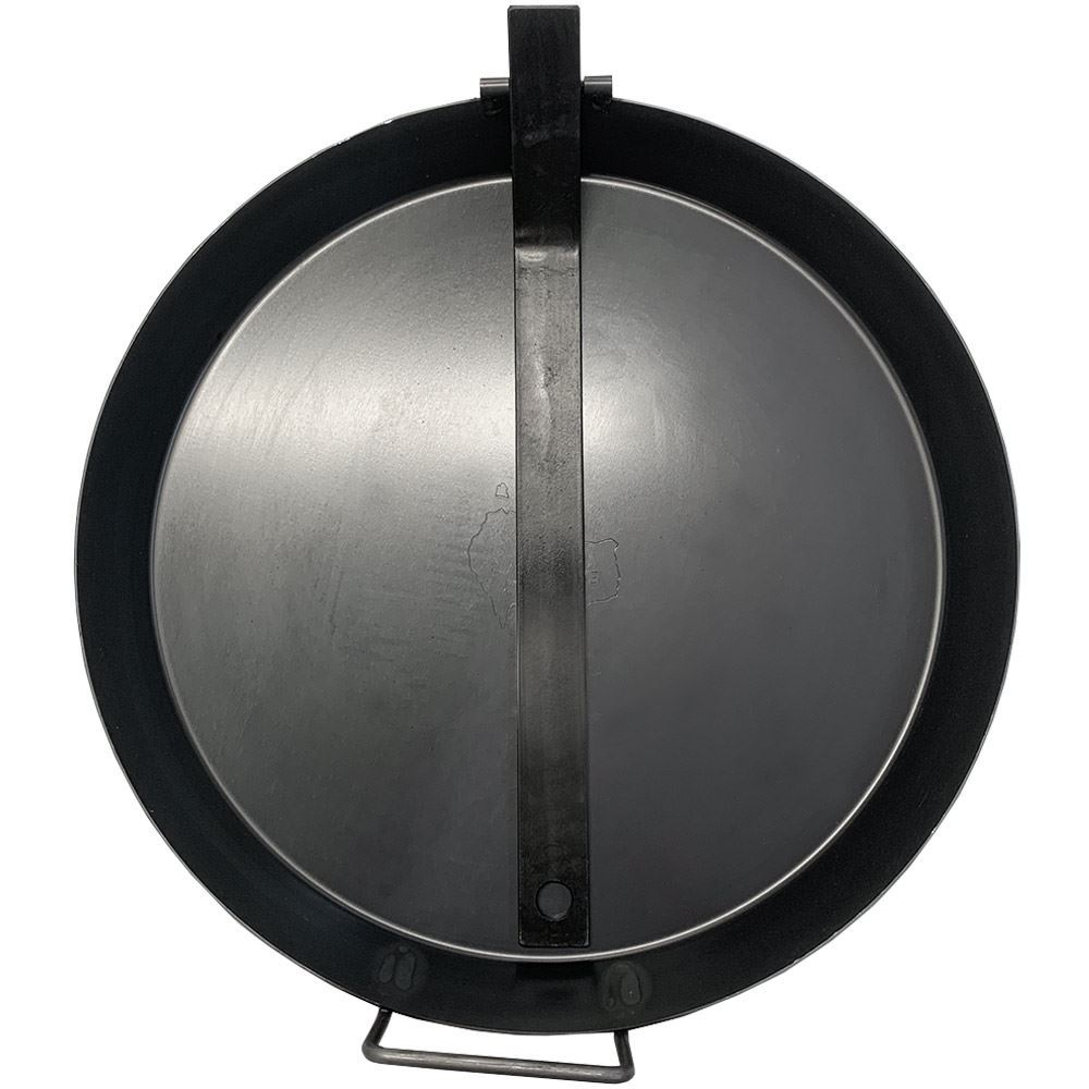 Hillbilly Frypan with Folding Handle 41cm - Handle collapsed