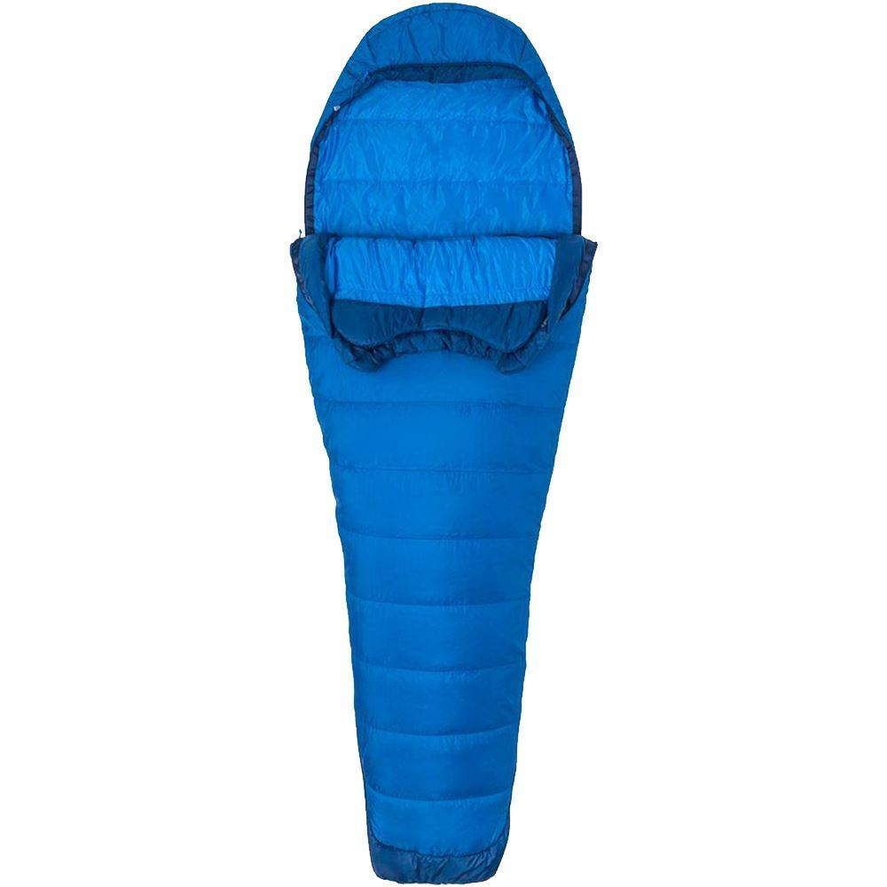 Marmot Trestles Elite Eco 20 Sleeping Bag Regular - Unzipped halfway down on both sides