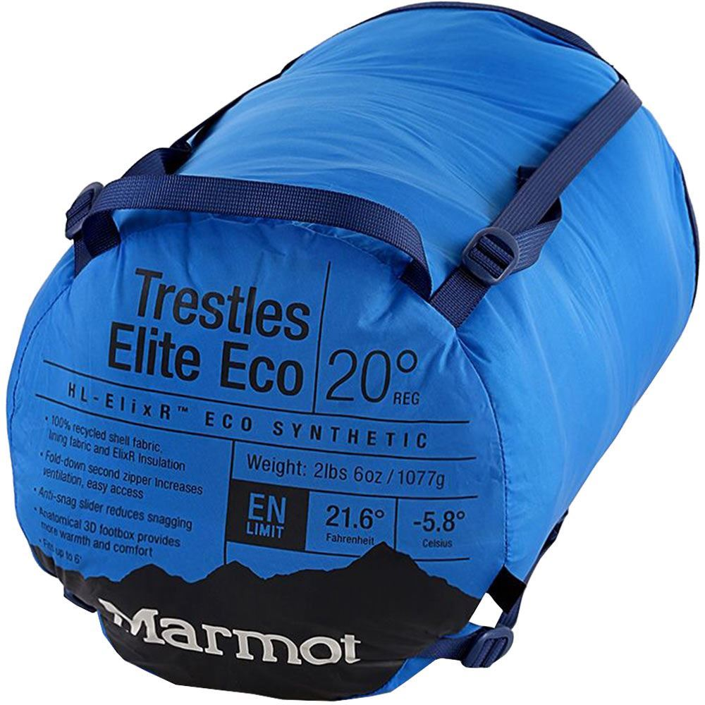 Marmot Trestles Elite Eco 20 Sleeping Bag Regular - Packed up sleeping bag