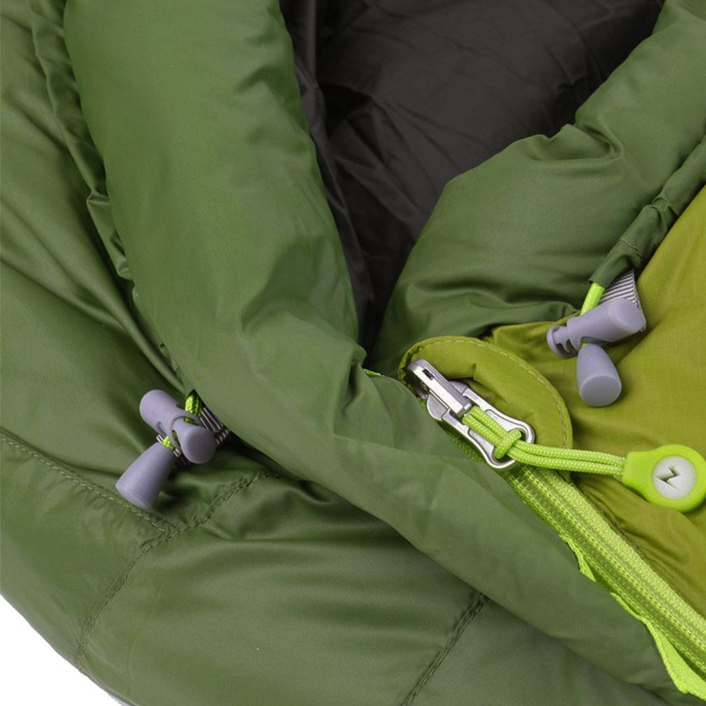 Marmot Never Winter Sleeping Bag (3.6 °C) - Close up of cords and zip