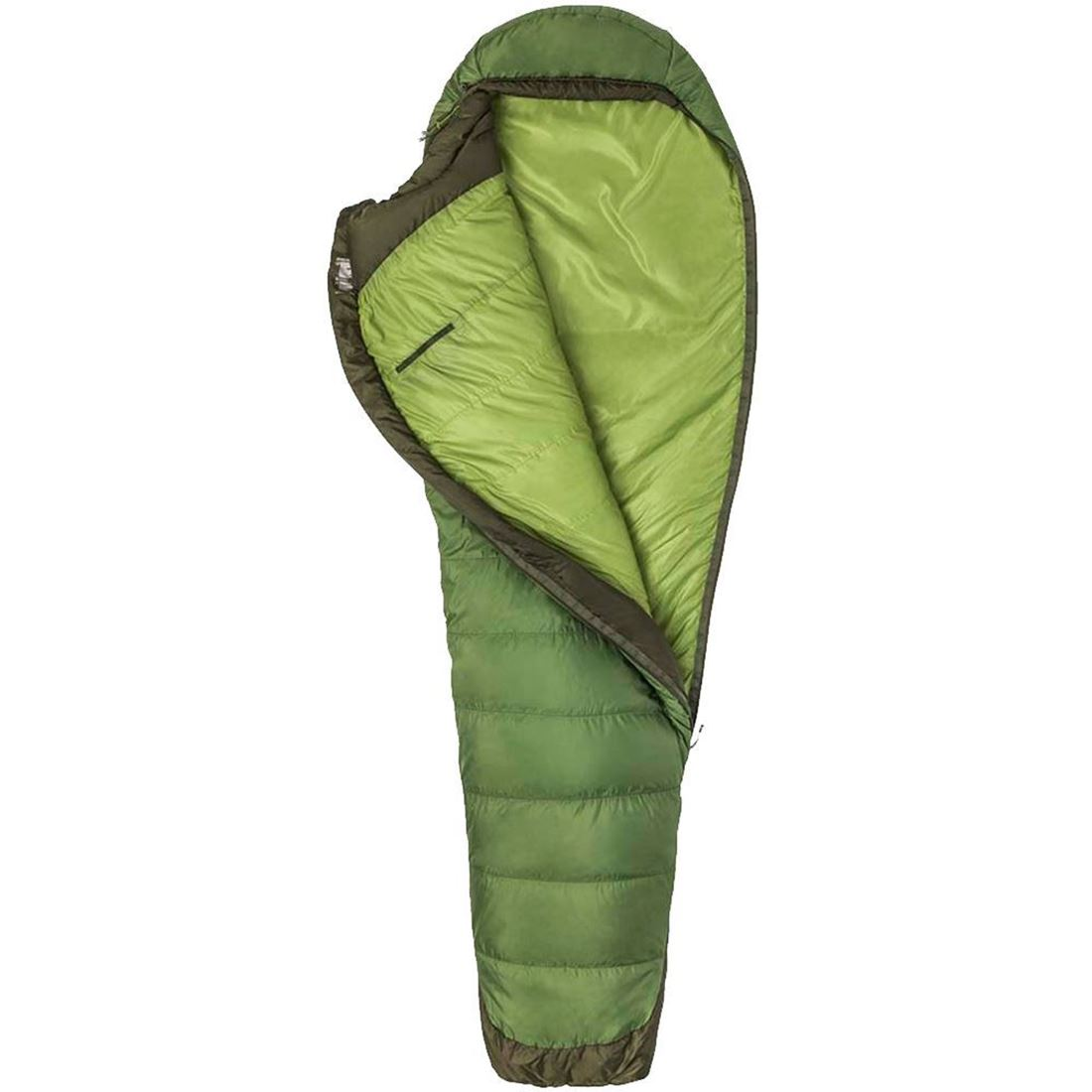 Marmot Trestles Elite Eco 30 Sleeping Bag (3 °C) - Half unzipped