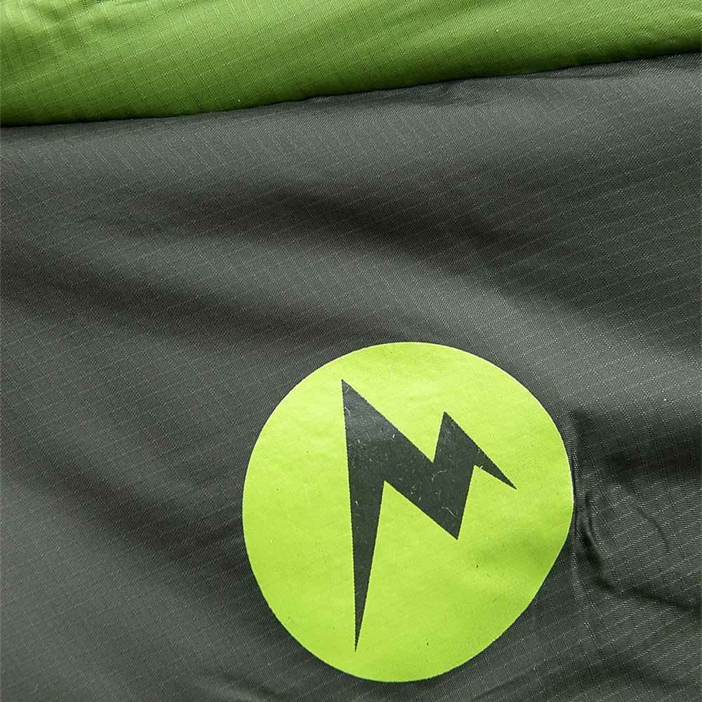 Marmot Trestles Elite Eco 30 Wmn's Sleeping Bag (-1 °C) Regular Wheatgrass Crocodile - Close up of fabric