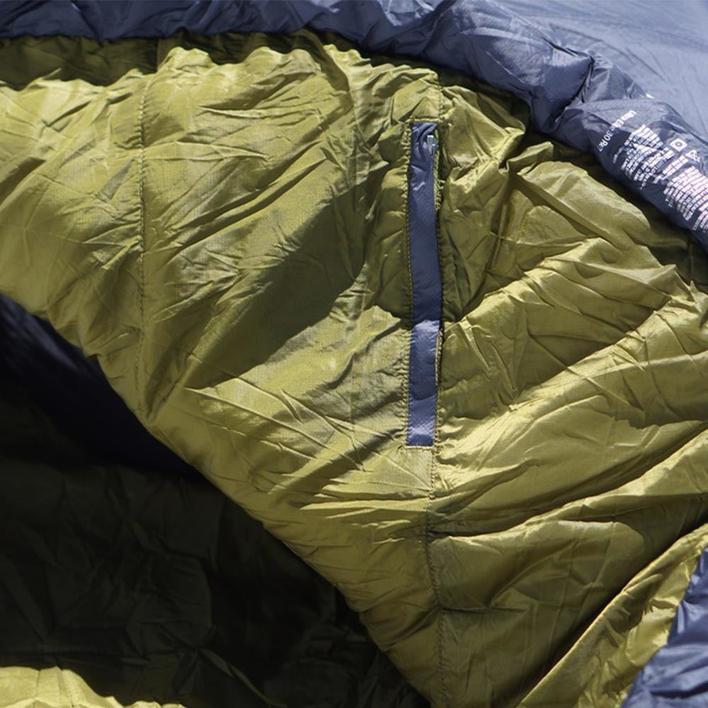 Marmot Ultra Elite 30 Sleeping Bag (-1 °C) Dark Steel Military Green - Close up of hood