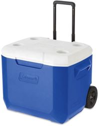 Coleman Wheeled Cooler 57L - Handle halfway extended