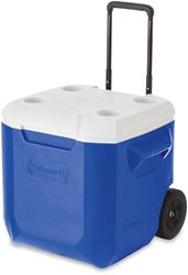 Coleman Wheeled Cooler 42L - Handle halfway extended