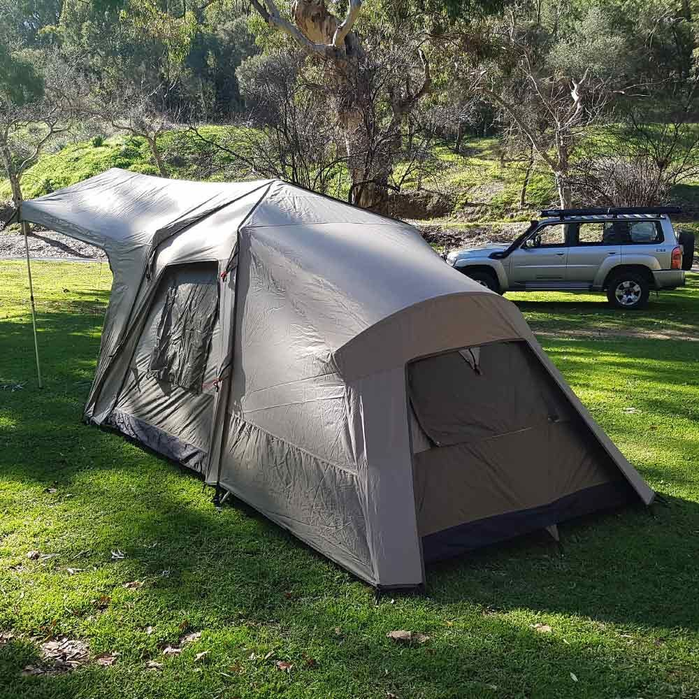 Black Wolf Turbo Lite Plus 240 Touring Tent - Back and side view