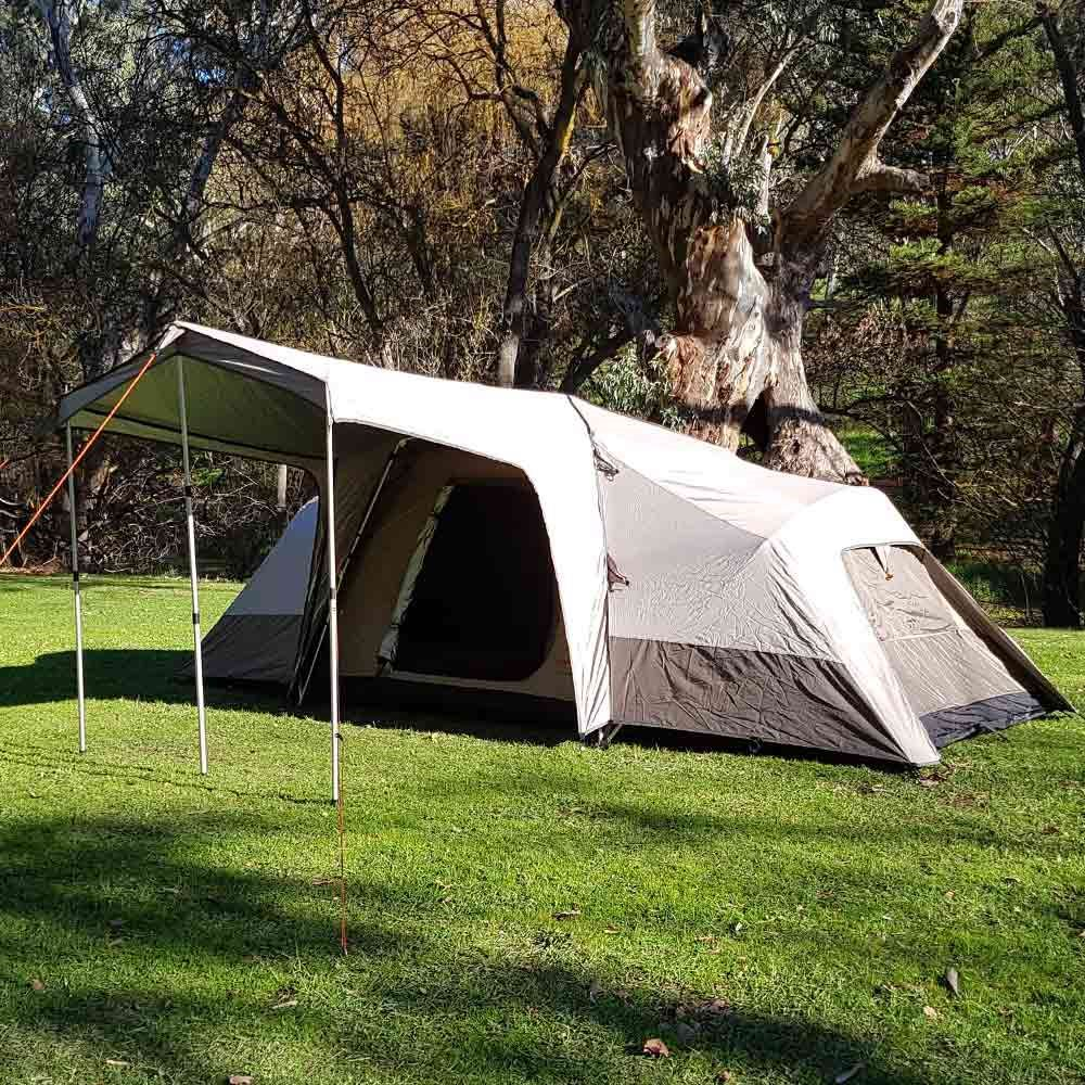Black Wolf Turbo Lite Twin 240 Family Tent - Side view