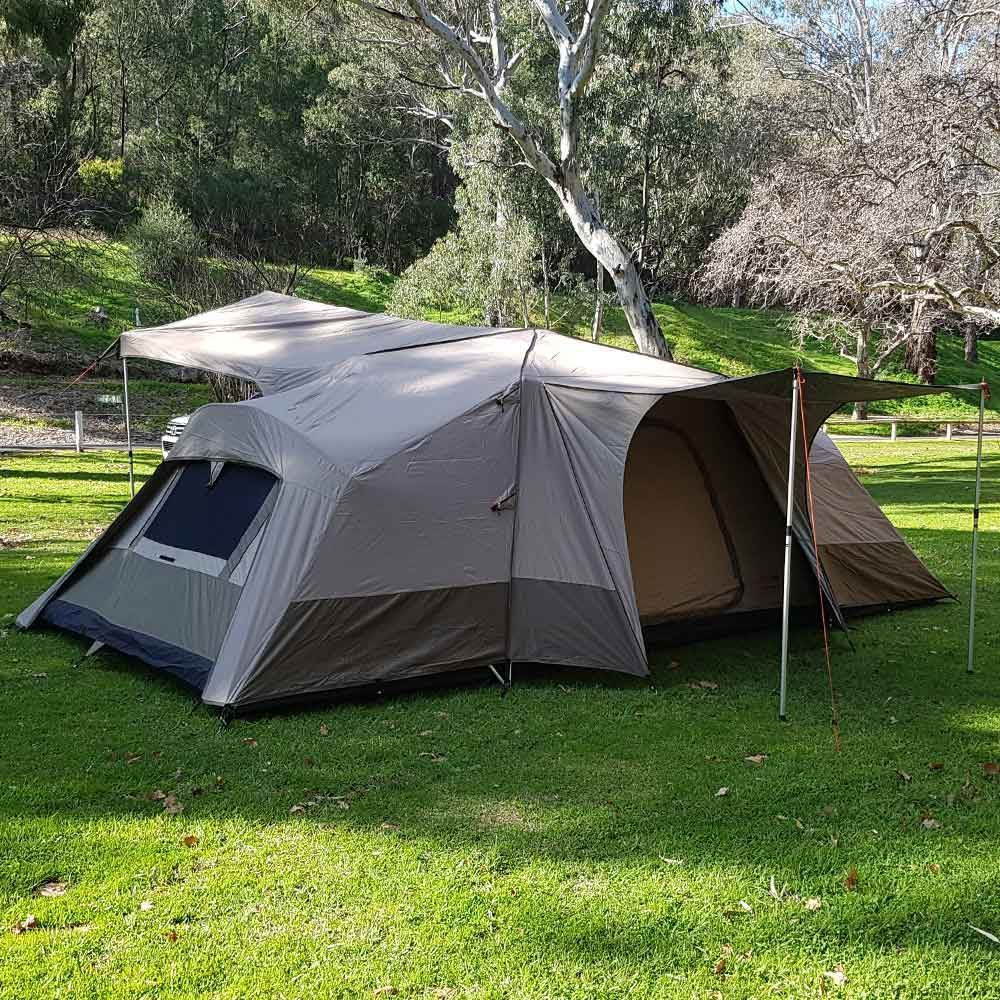 Black Wolf Turbo Lite Twin 300 Tent - Front and side view