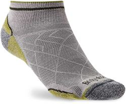 Bridgedale Hike Ultra Light T2 Coolmax Performance Men's Low Sock Grey Green