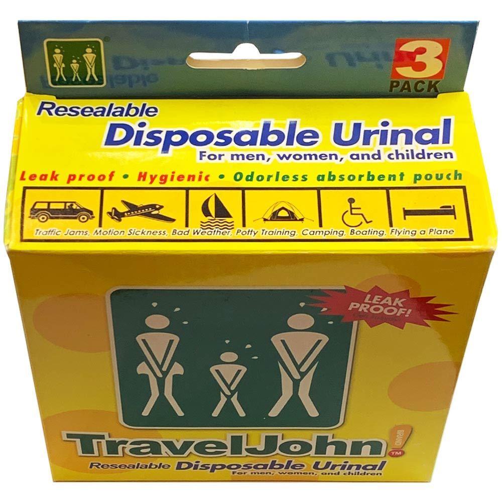 TravelJohn Disposable Unisex Urinal