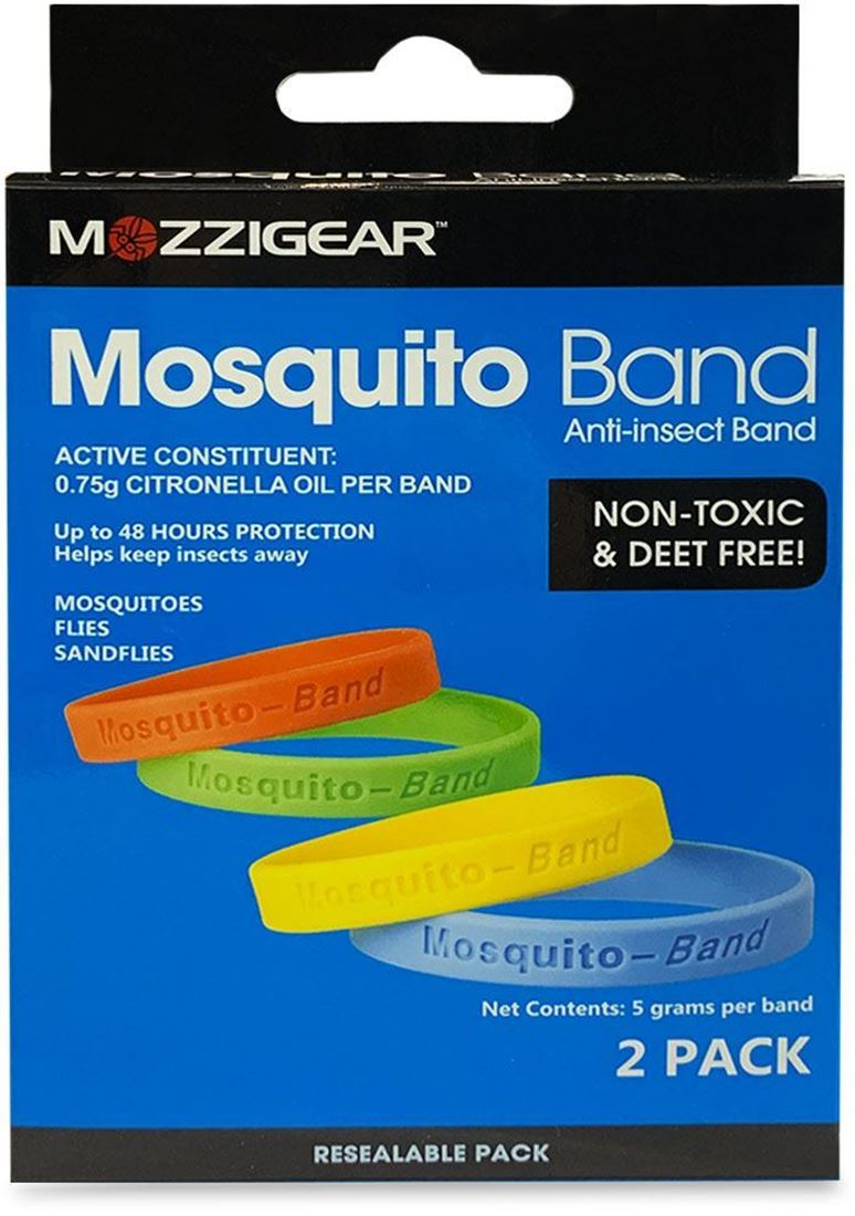 MozziGear Adult Mosquito Band 2 Pk