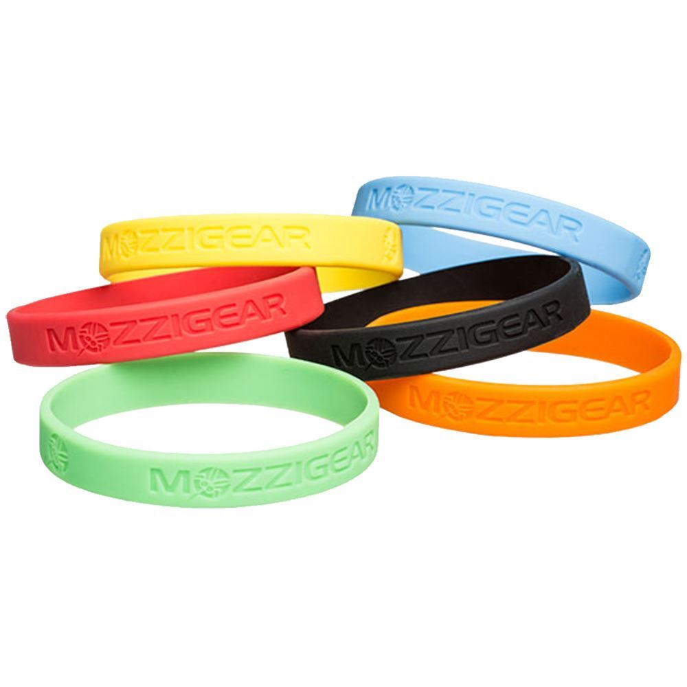 MozziGear Adult Mosquito Band 2 Pk - Various colours