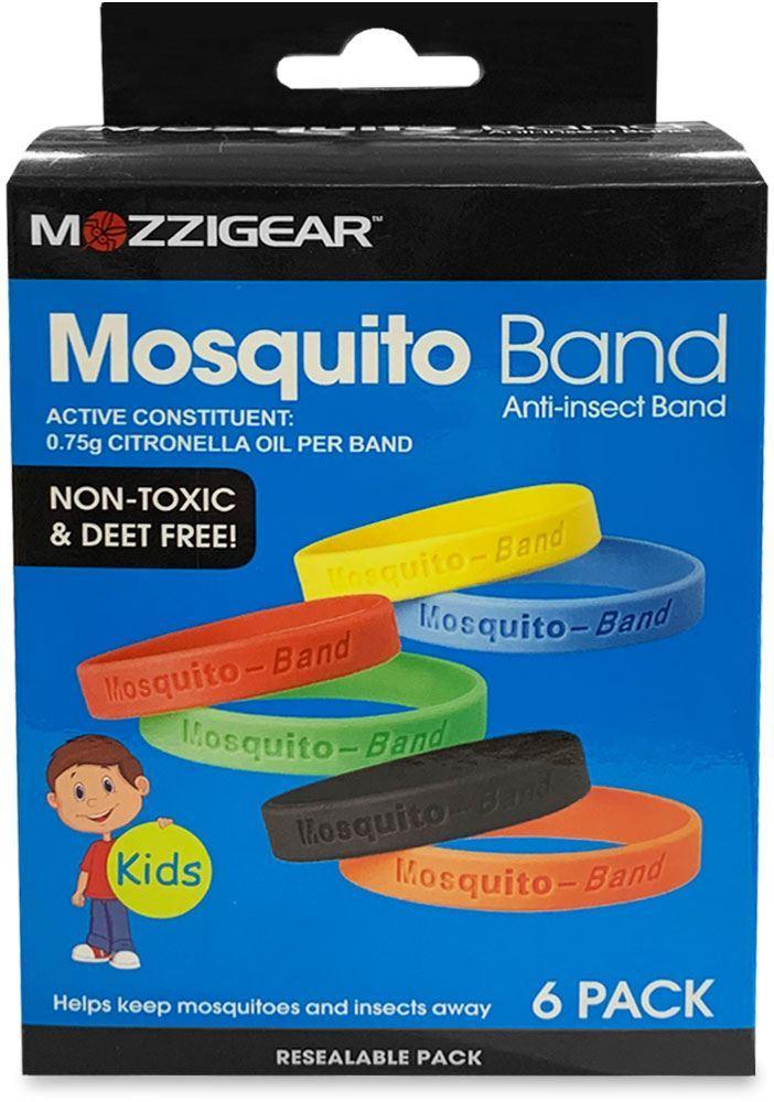 MozziGear Kids Mosquito Bands 6 Pk