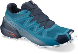 Salomon Speedcross 5 Men's Shoe Fjord Blue Navy Blazer Illusion Blue