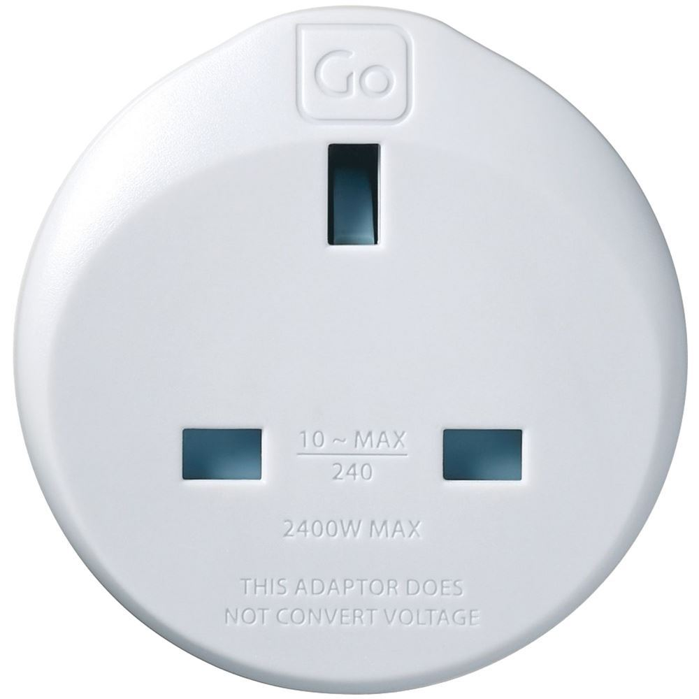 Go Travel UK Travellers to Aus & China Adaptor