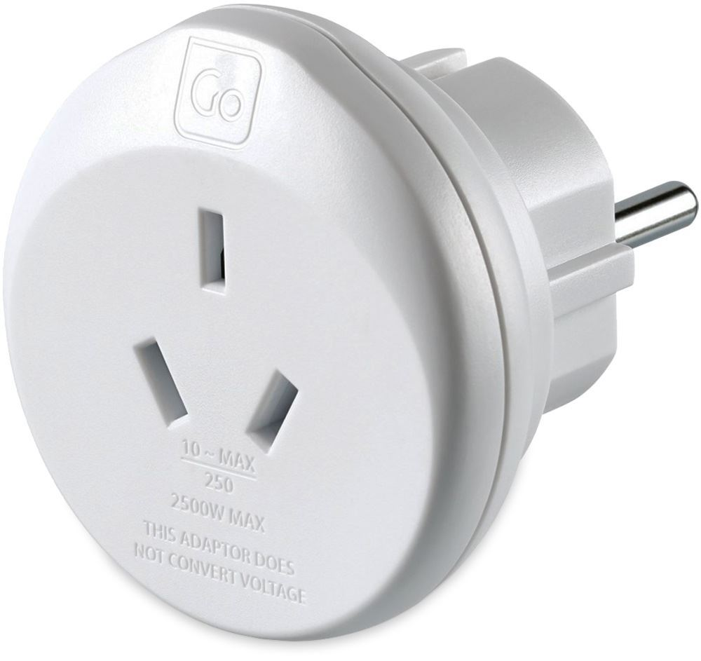 Go Travel Aus & Chineses Travellers to Europe Adaptor