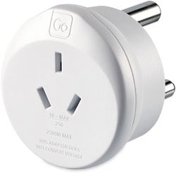 Go Travel Aus & Chinese Travellers - South Africa Adaptor
