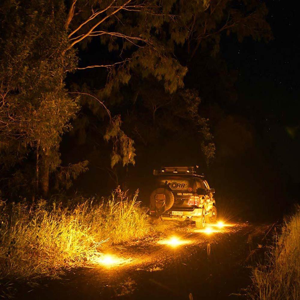Picture of Korr Lighting Unilight 4 Pk Dual Colour Universal LED Lanterns