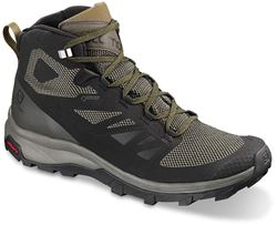 Salomon Outline Mid GTX Men's Boot US 8 Black Beluga Capers