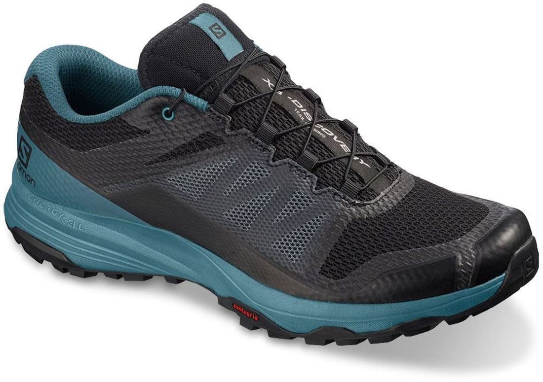 Salomon XA Discovery Men's Shoe US 8 Black Mallard Blue Ebony