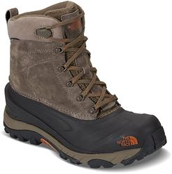 The North Face Chilkat III Men's Insulated Boot Mudpack Brown Bombay Orange