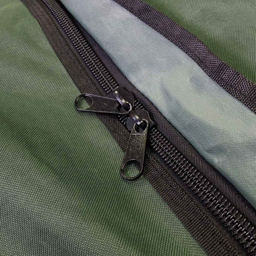 AOS Double Swag Bag - Main compartment zip