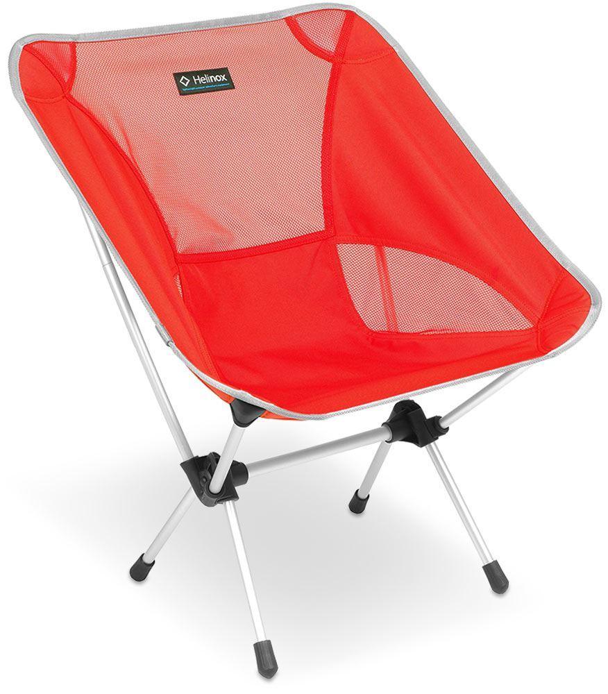 Helinox Chair One Crimson & Silver