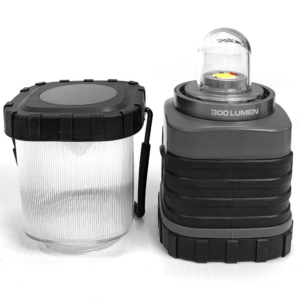 Companion X 300 Nova LED Lantern - Lantern unscrewed into two parts