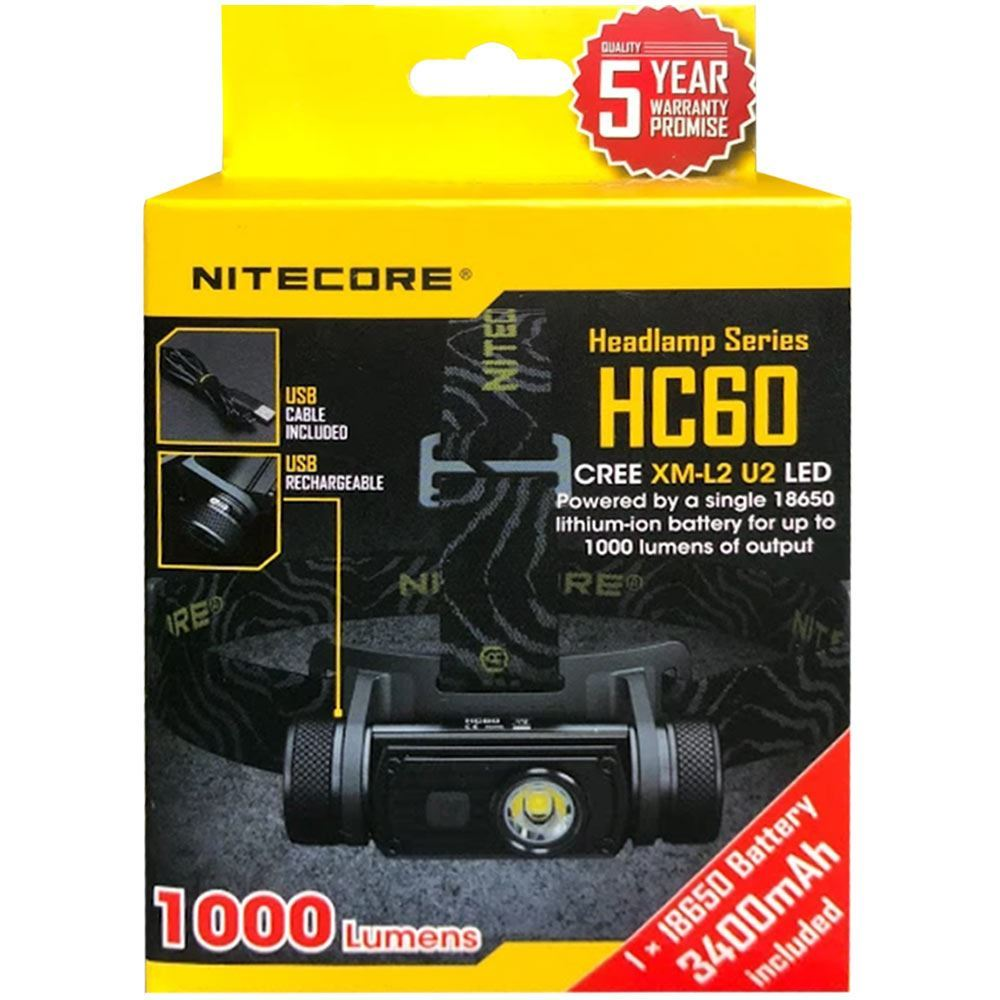 Picture of Nitecore HC60 Headlamp