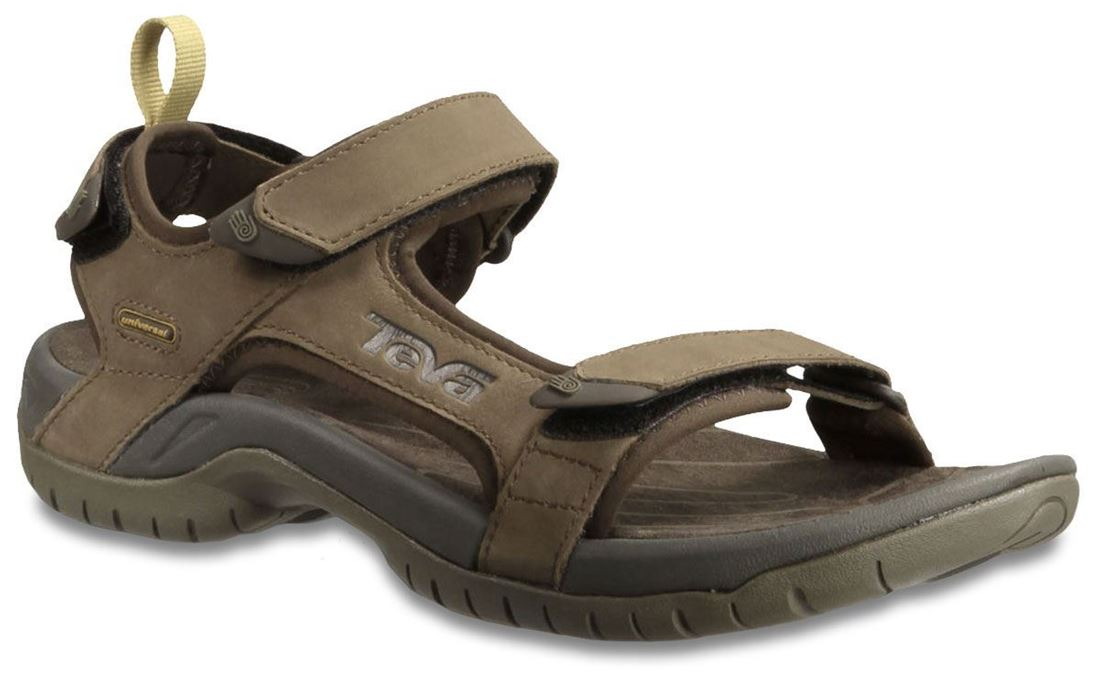 Teva Tanza Leather Men's Sandal Brown - US 11