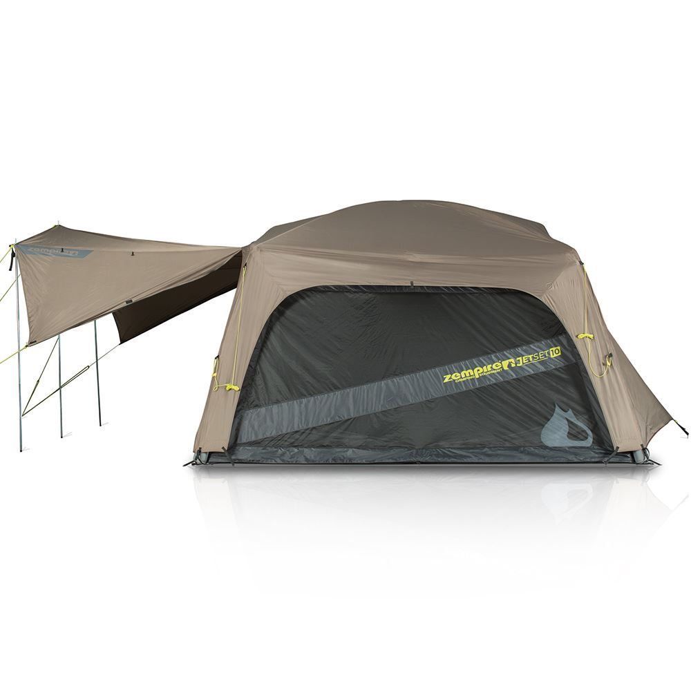 Zempire Jetset 10 Inflatable Air Tent Side