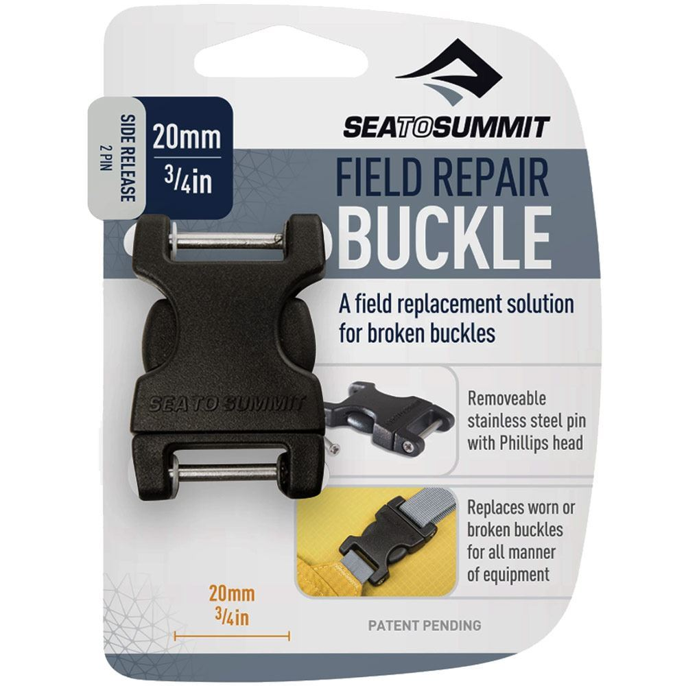 Sea to Summit Side Release 2 Pin Buckle - 20mm packaging