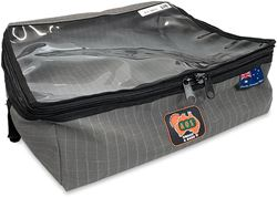 AOS Canvas Rear Drawer Bag Large Grey