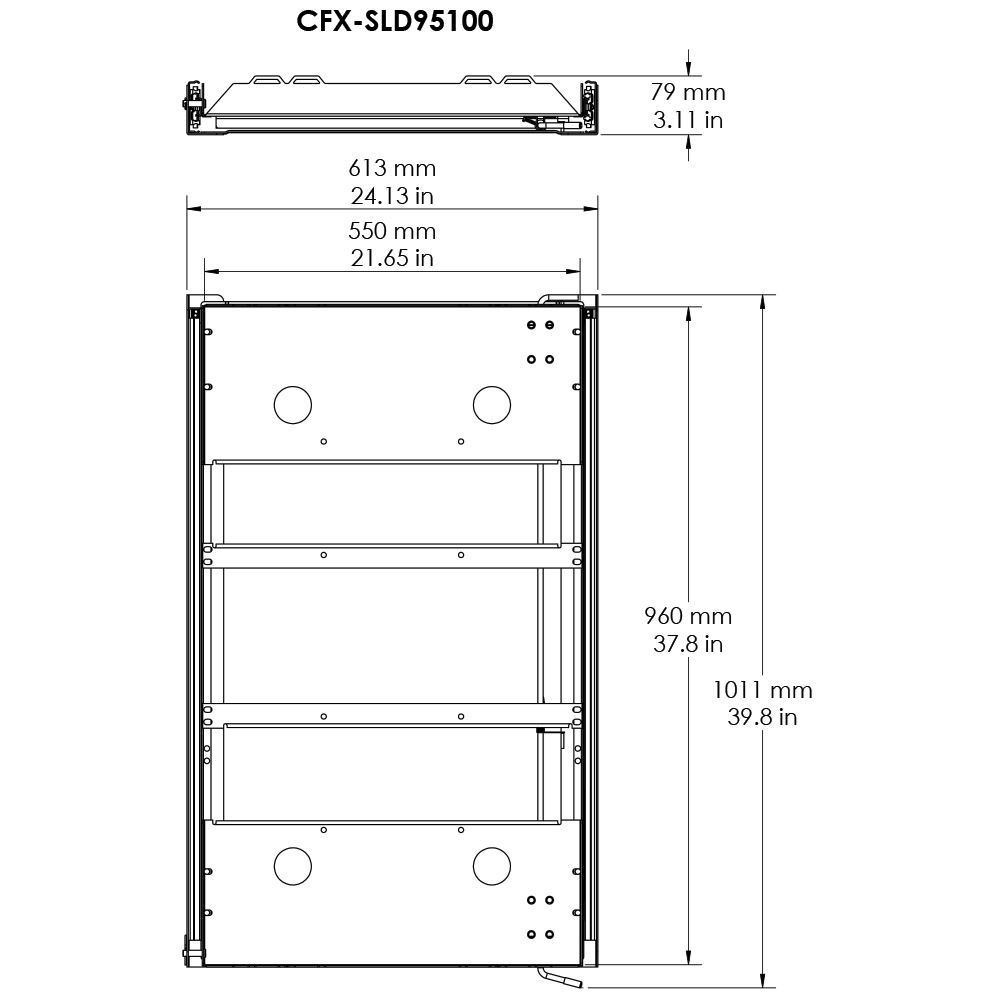 Dometic CFX Fridge Slide 95/100 - Diagram