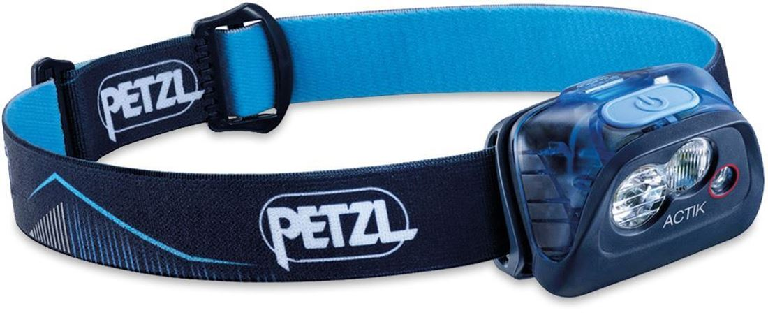 Petzl Actik Headlamp Blue 350 Lumen