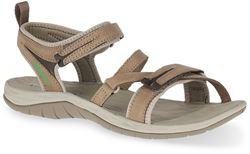 Merrell Siren Strap Q2 Wmn's Sandal Brindle