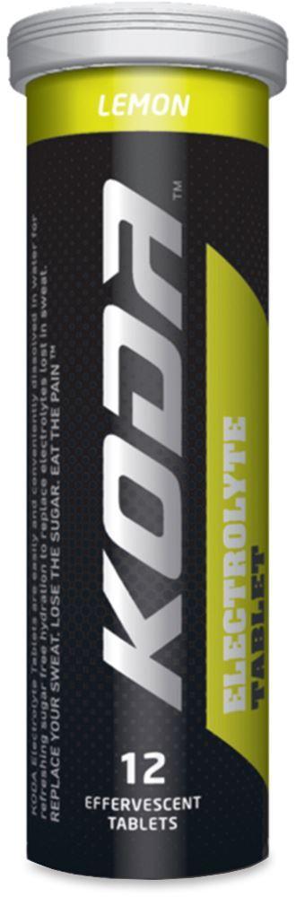Koda Electrolyte Tablets 12 Pack Lemon
