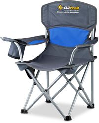 OZtrail Deluxe Junior Arm Chair - Blue