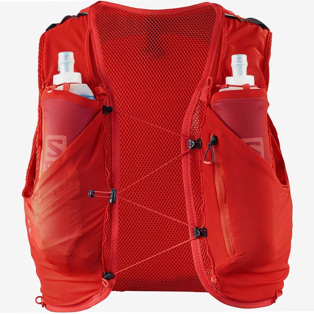 Salomon Advanced Skin 5 Set Fiery Red front