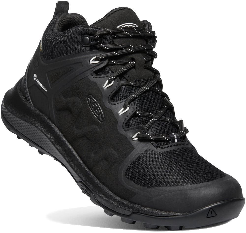 Keen Explore Mid WP Wmn's Boot Black Star White