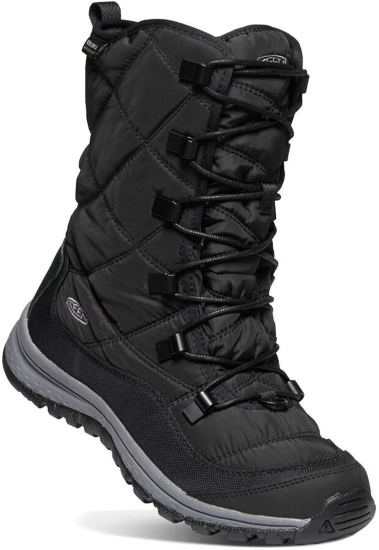 Keen Terradora Lace WP Wmn's Boot Black Steel Grey